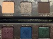 Urban Decay Smoked Palette~Review Swatches~