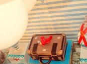 Aeroplane Themed Birthday Candy Queen Buffet