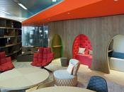 Urquiola's Furniture Everywhere Google's London Office