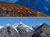 Places Nicholas Roerich's Paintings Himalayas