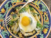 Fresh Herb Arugula Penne Pasta Parmesan