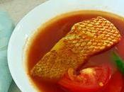 Ikan Masak Asam Rebus (fish Sour Soup)