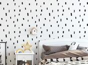Stylish Modern Children's Room Nursery Wallpaper Wall Mural Ideas