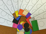 Color Matching Game Preschoolers Children, Connect Umbrellas Boots This Games Learning That Using Little Boy.