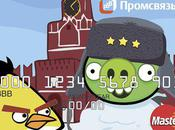 Angry Birds Debit Cards Issued Russia