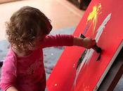 4-Year-Old Abstract Expressionist Painter