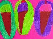 Wayne Thiebaud Cream Cones