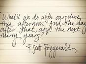 Things Like Wilder Words: Scott Fitzgerald, What