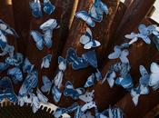 Butterfly Swarm Sculptures