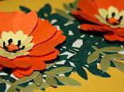 Flower Greeting Card Using Paper Punches