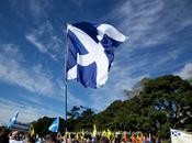 Saltires March Scottish Independance