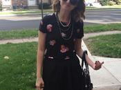 Outfit: Black Florals