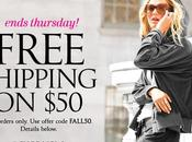 Free Shipping with Purchase Victoria's Secret