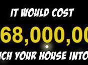 Much Would Cost Send Your House Into Space?