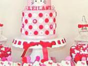 Red, Pink White Hello Kitty Birthday Party Couture Crafts