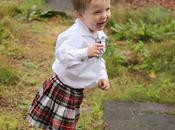 Scottish National Dress With Modern Twist.