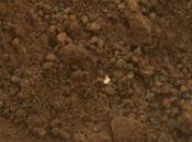 Curiosity Finds Strange, Bright Objects Martian Soil