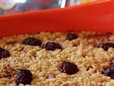 Double Berry Baked Oatmeal