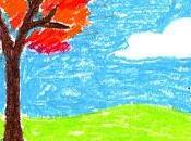 Fall Pastel Tree