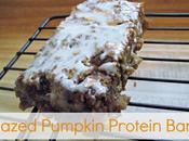 Glazed Pumpkin Protein Bars
