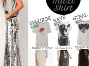 Look: Sequin Maxi Skirt