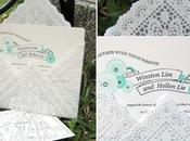 Paper Doily Envelopes
