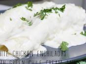 White Chicken Enchiladas...