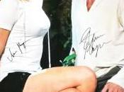 True Blood Memorabilia Signed Stephen Moyer Anna Paquin Auctioned Movember Charity
