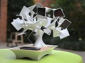 Electree+, Solar-Powered, Induction Charging Bonsai Tree