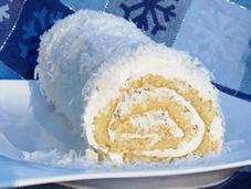 Coconut Roulade with Buttercream National Cake