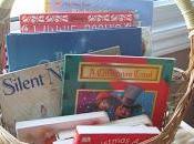 Christmas Idea Holiday Book Basket