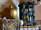 Fall Mantle: Decorated Silver, Gold, Pale Blue White