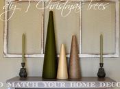 Christmas Trees Match Your Home Decor {DIY}