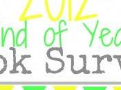 2012 Year Book Survey!