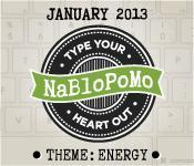 Find Energy? #nablopomo