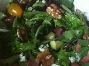 Bacon, Avocado, Roquefort Walnut Salad