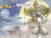 Make Crafty Tiddly Inks {Victorian Steampunk} Release July 14th