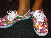 """Hello Kitty"" Vans Sneaker Collection"