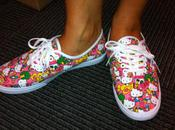 """Hello Kitty"" Vans Sneaker Collection"