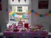 Daughter's Pink Rainbow Birthday Party