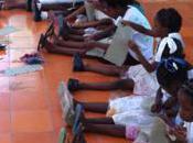 Weaving with Haiti Kids