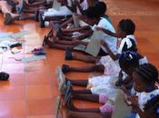 Haiti, Burlap Weaving