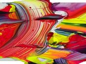 Abstract Colorful Artists. When Canvas Surface Enough.