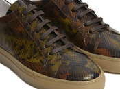 Second-skin Snakeskin: Oliver Sweeney Allen Sneakers Snake Prints