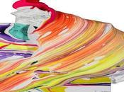 Pintores Abstractos Color. Experimentando Lienzo.