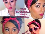Pink Rockabilly Pin-Up Makeup Tutorial