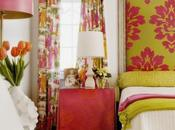 Color Roundup: Chartreuse, Lime Apple Green Interior Design