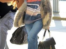 Celeb Style: Rihanna Made Through Airport New...