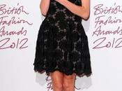 Celebrities British Fashion Awards 2012