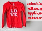 Valentine's Appliqued Shirt